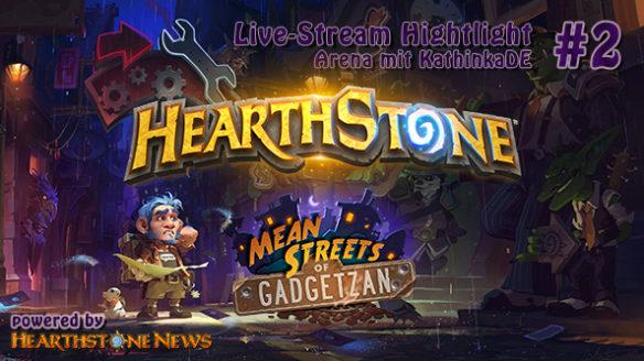 [Let's Play] Hearthstone Arena Live-Stream mit KathinkaDE – Highlight #2 | deutsch
