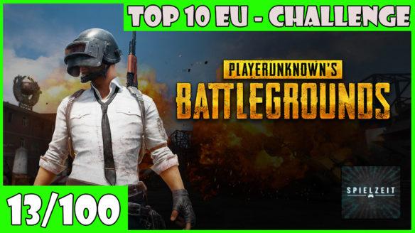 Top 10 EU – Challenge – Spiel (13/100)