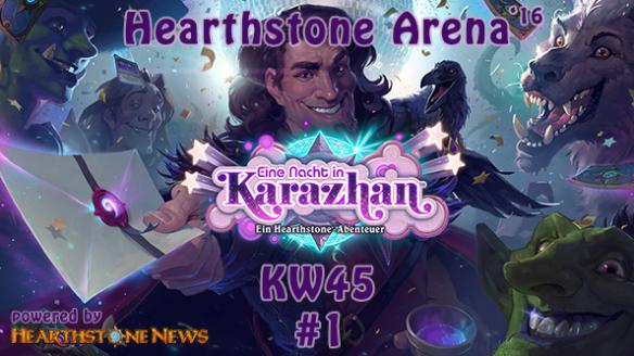 Arena KW45'16 #1